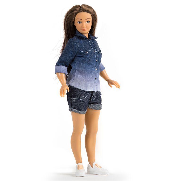 La muñeca Lammily, con proporciones más reales.