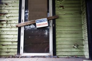 Foreclosures affect home values