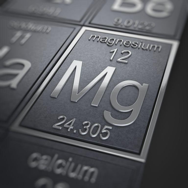 elemento químico magnesio
