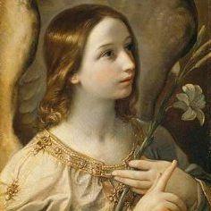 Arcángel Gabriel por Guido Reni