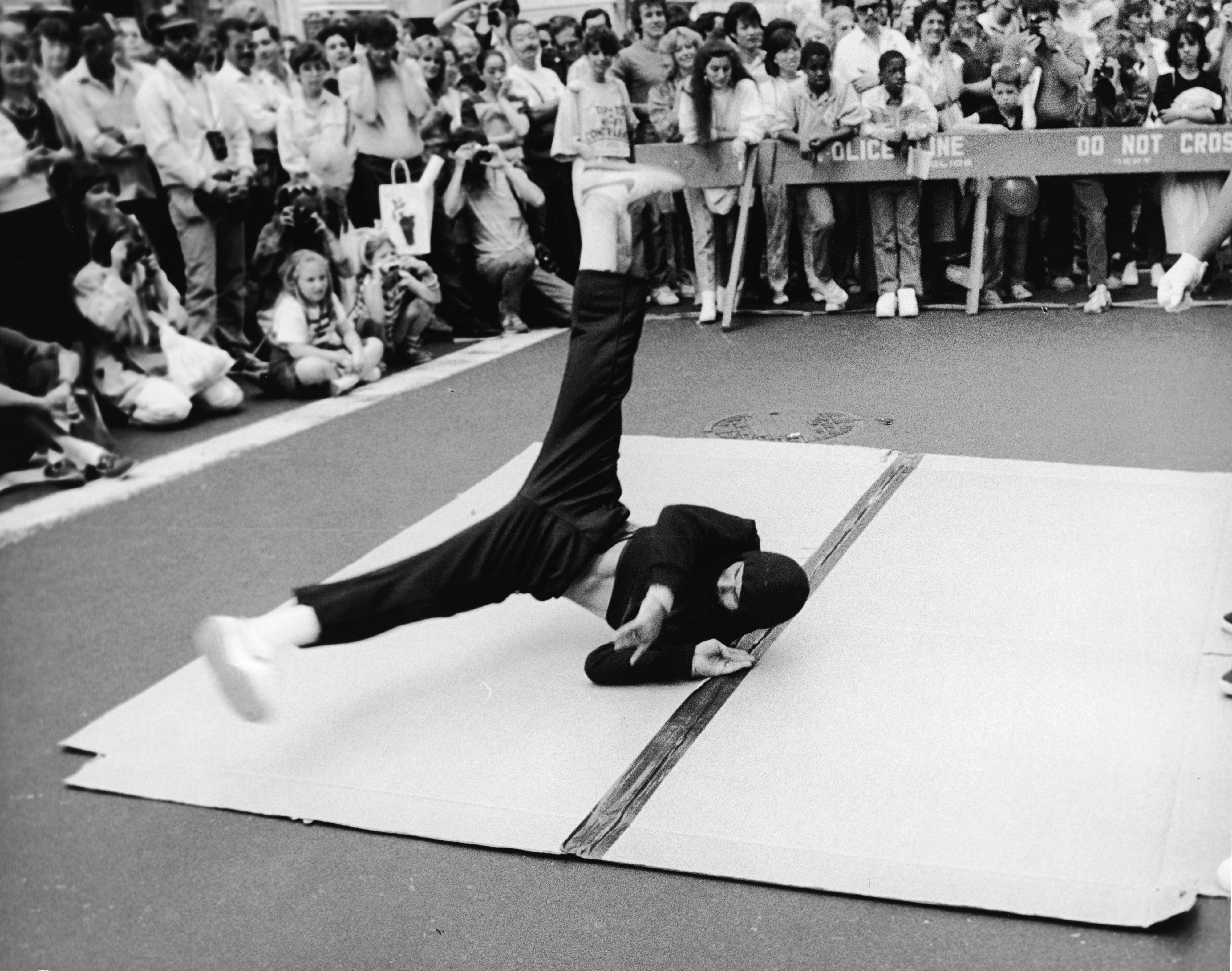 Breakdance en la calle
