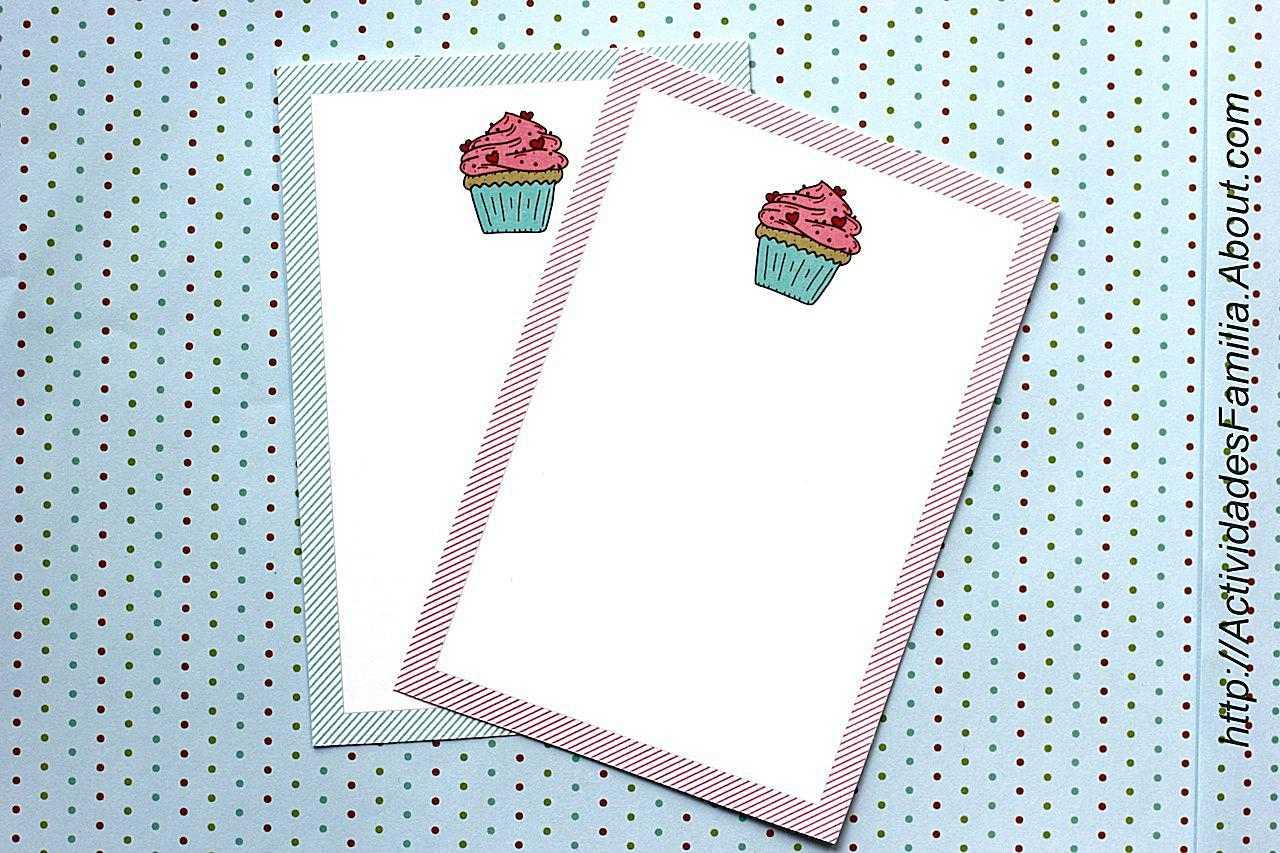 Tarjeta para imprimir
