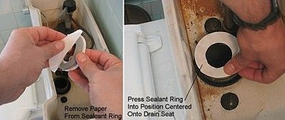 El sellador adhesivo es el secreto de este kit de reparación fácil