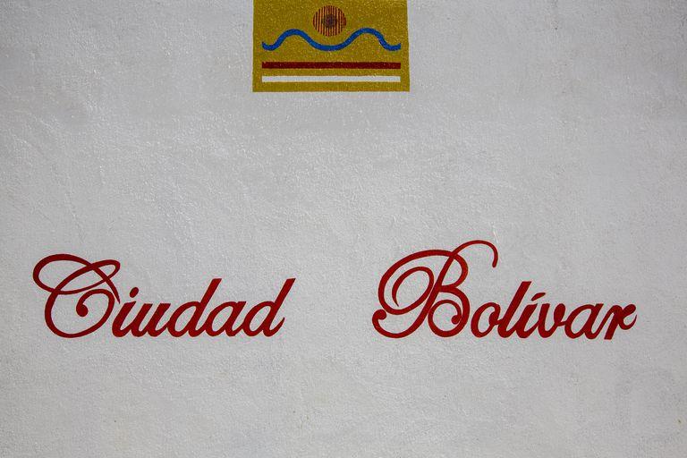 Entrada de Ciudad Bolivar. Venezuela