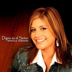 Carátula álbum Digno es el Señor, de Marcela Gándara