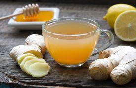 Tisana de jengibre con limón y miel