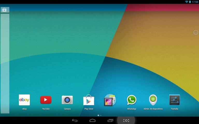 KitKat Launcher para tablets y smartphones