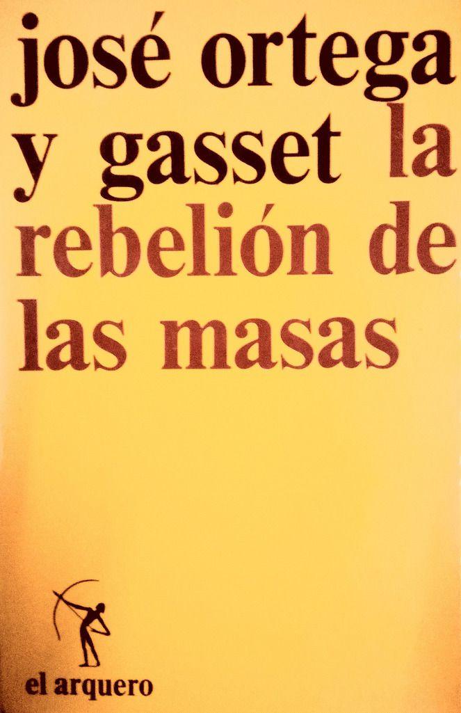 rebelion de las masas