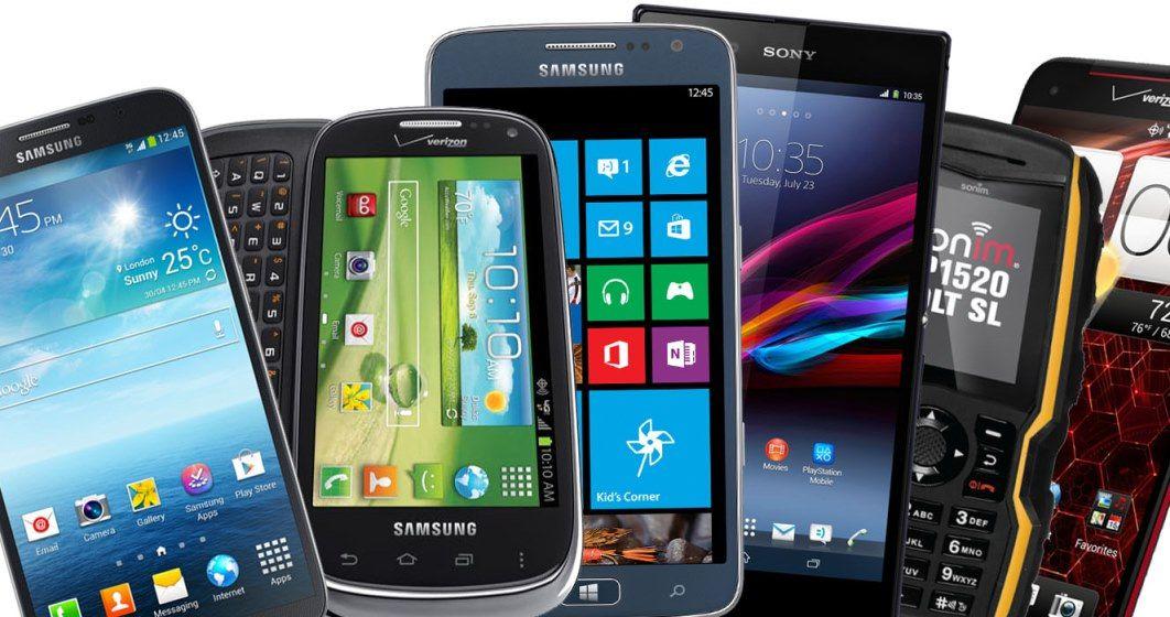 Gama de celulares