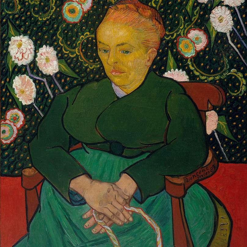 Vincent van Gogh, Retrato Augustine Roulin