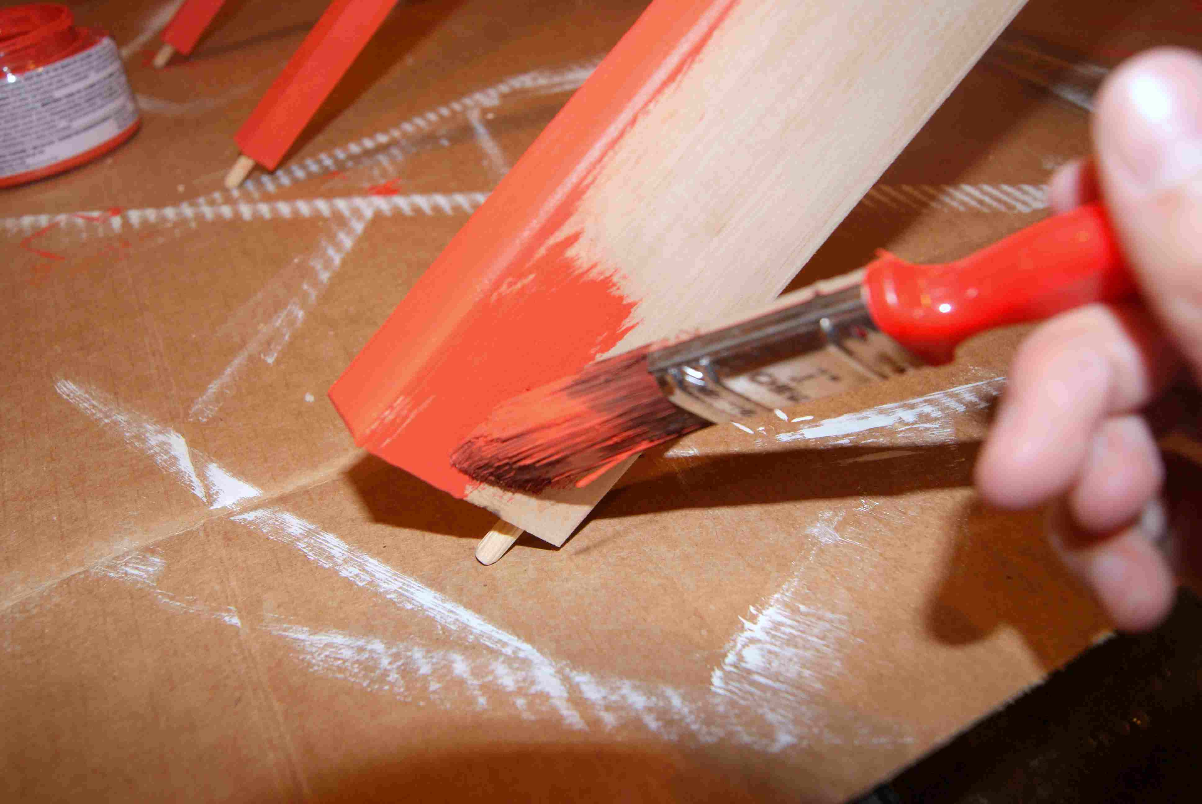 Pintura de mueble de madera