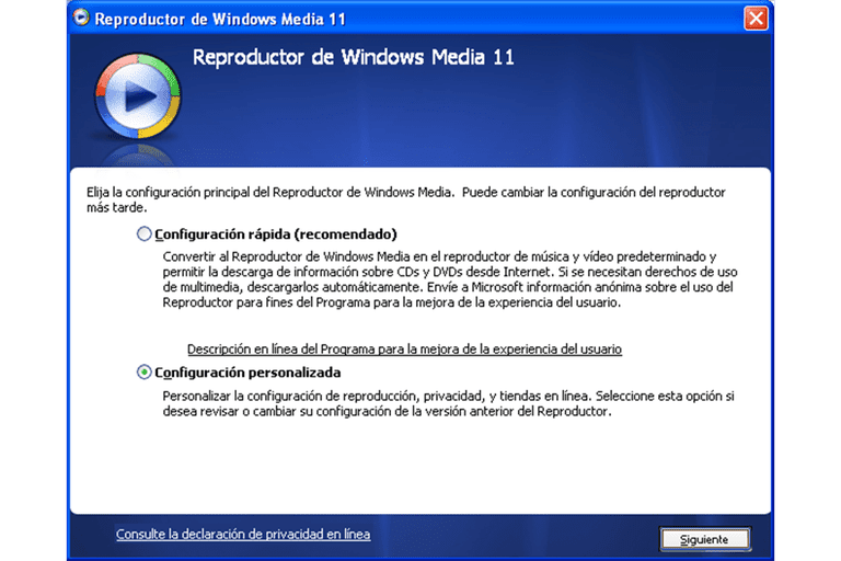 descargar windows media player 11 para windows 7 32 bits