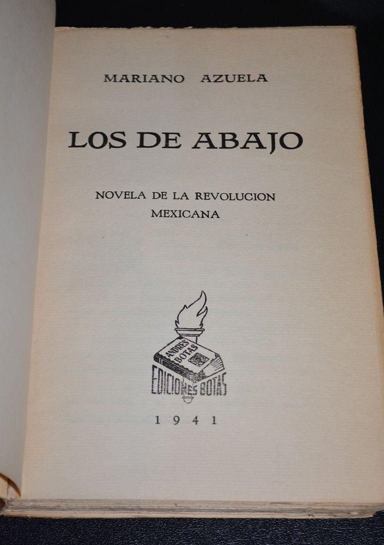 Los de Abajo, de Mariano Azuela