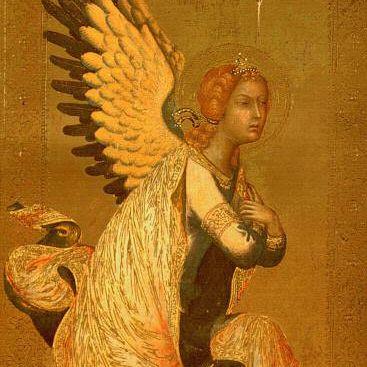 El ángel de la anunciación