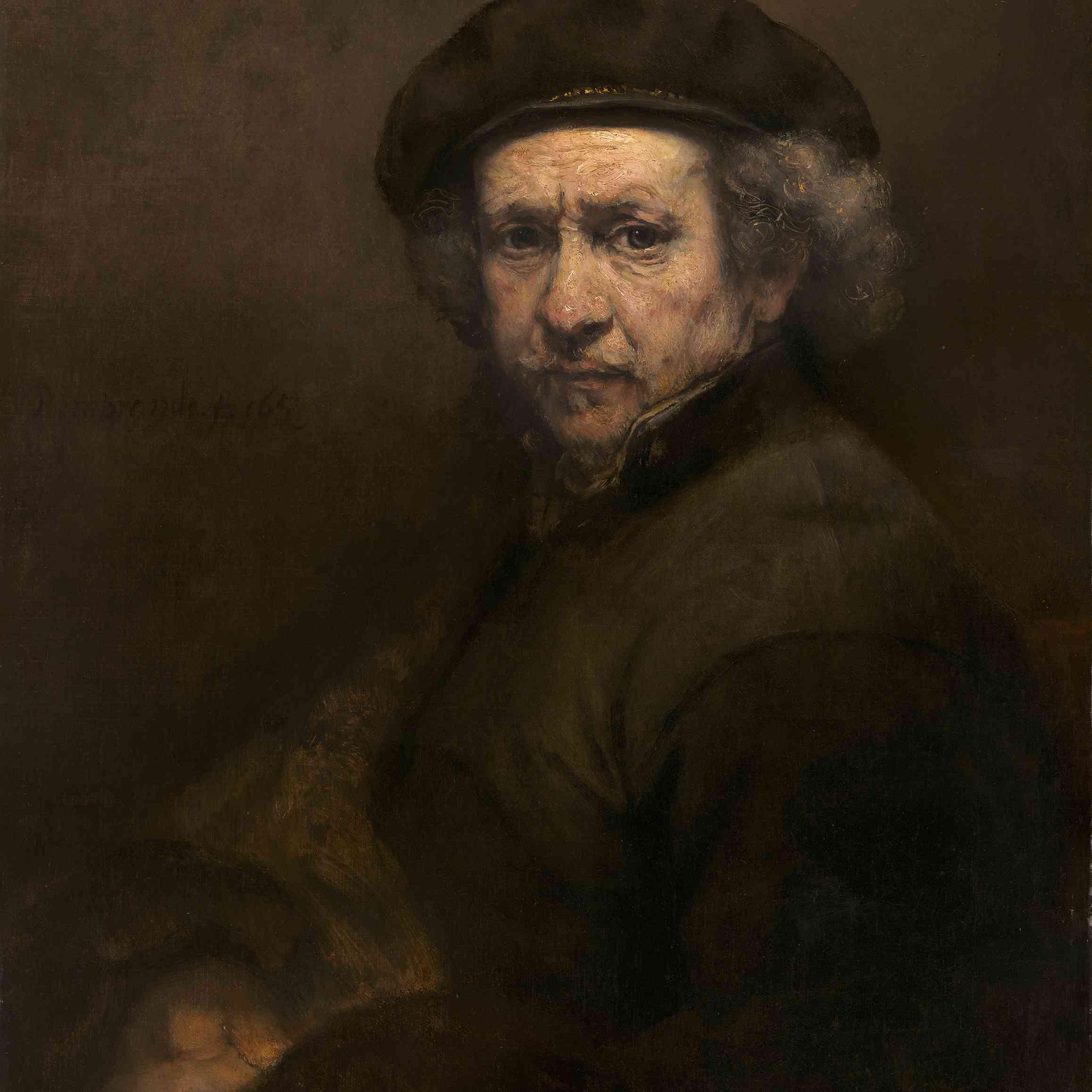 Autoretrato Rembrandt