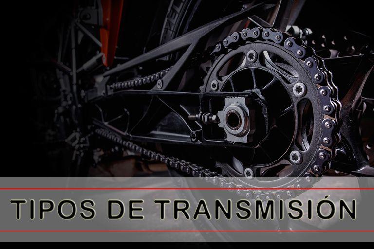 Tipos de transmisión en moto
