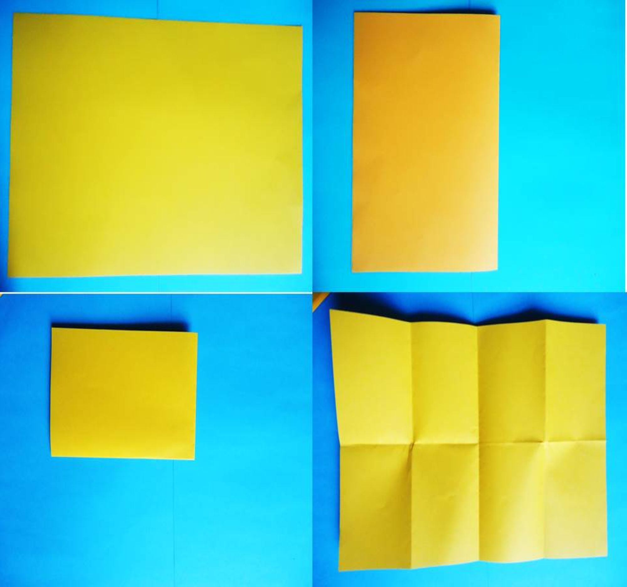 Triángulo origami 3D