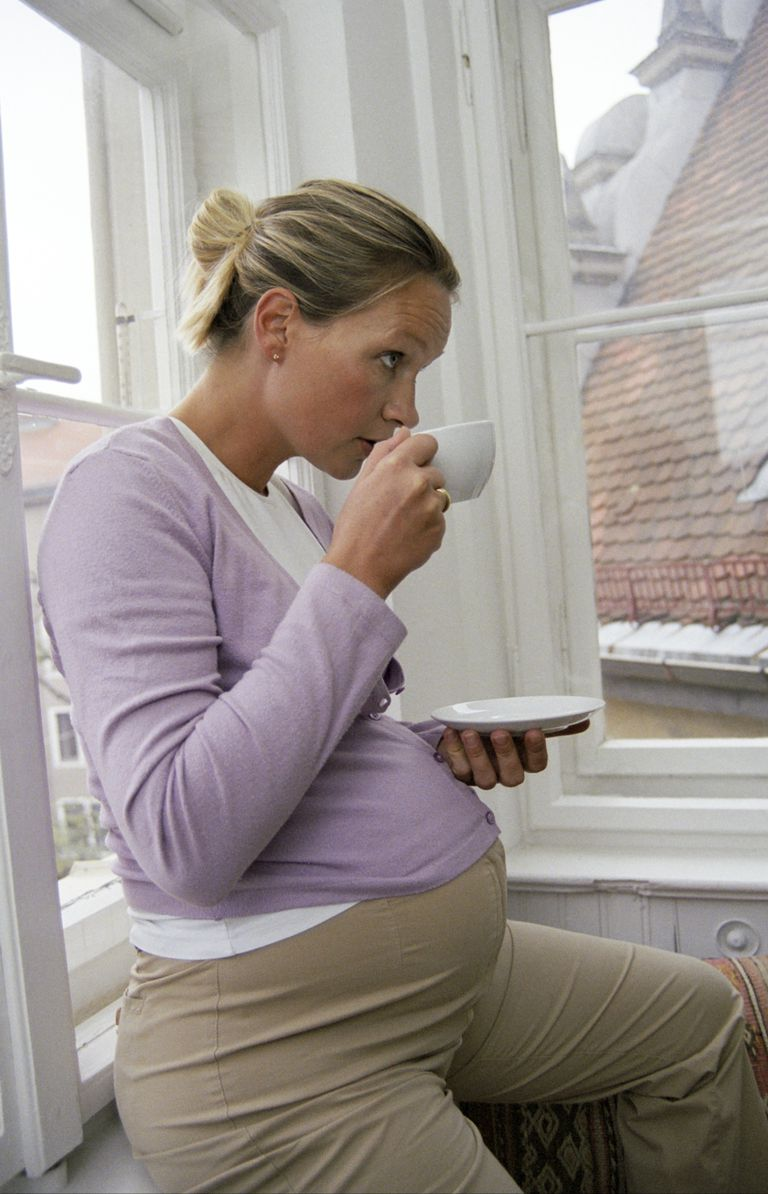 Tomar té en el embarazo