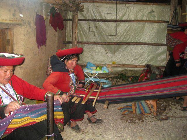 Textiles en Chinchero
