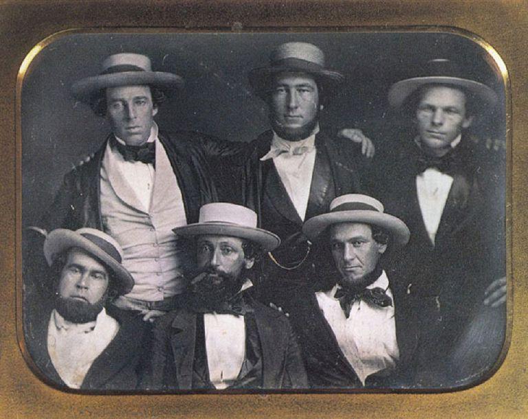 The New York Knickerbockers Base Ball Club, circa 1847