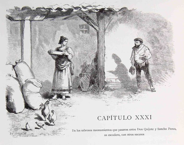 Capitulo 31 don quijote