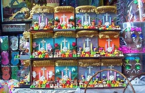 Altares miniaturas