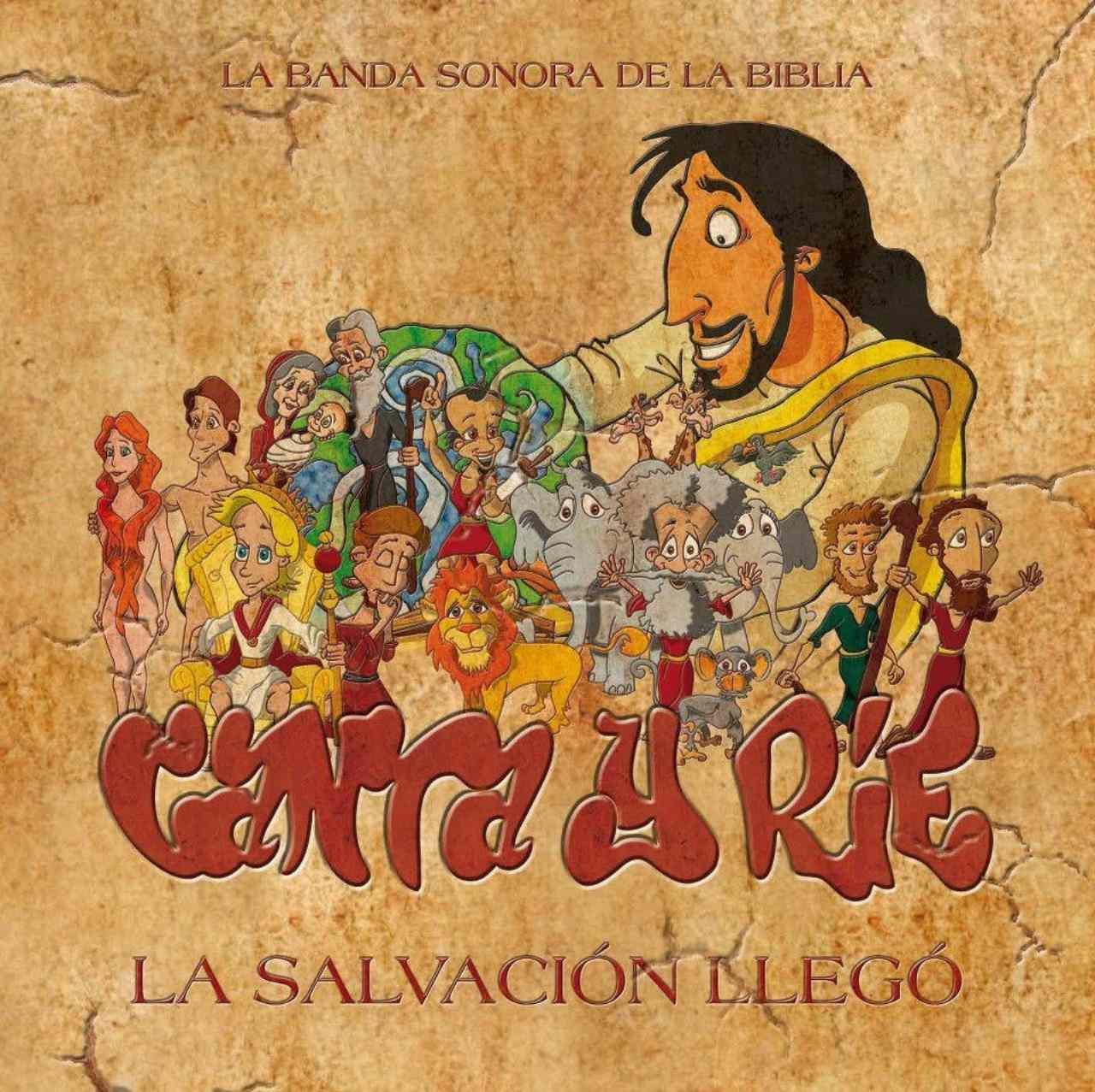 Canta y Ríe, álbum Canta y ríe 3: la salvación llegó