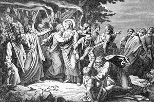 arresto de cristo