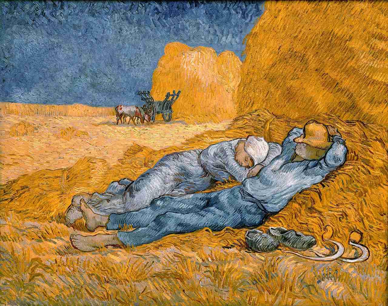 Vincent van Gogh, Siesta