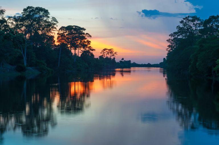 River en Parque Nacional Manu