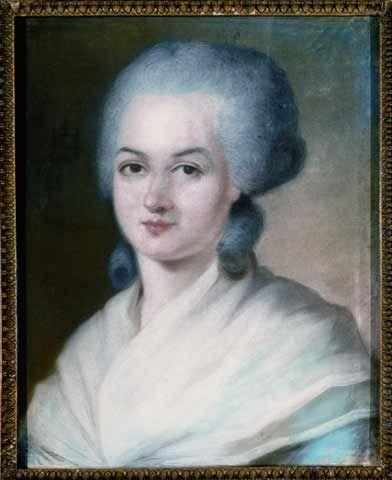 Retrato de Olympe de Gouges.