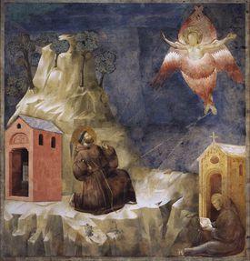 San Francisco de Asís por Giotto