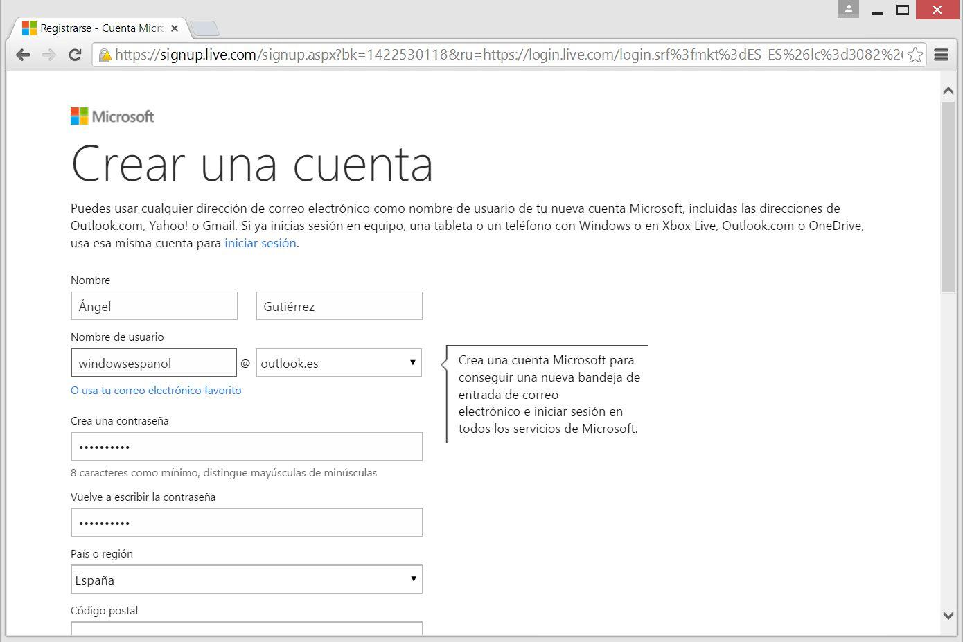 Windows Live ID Outlook