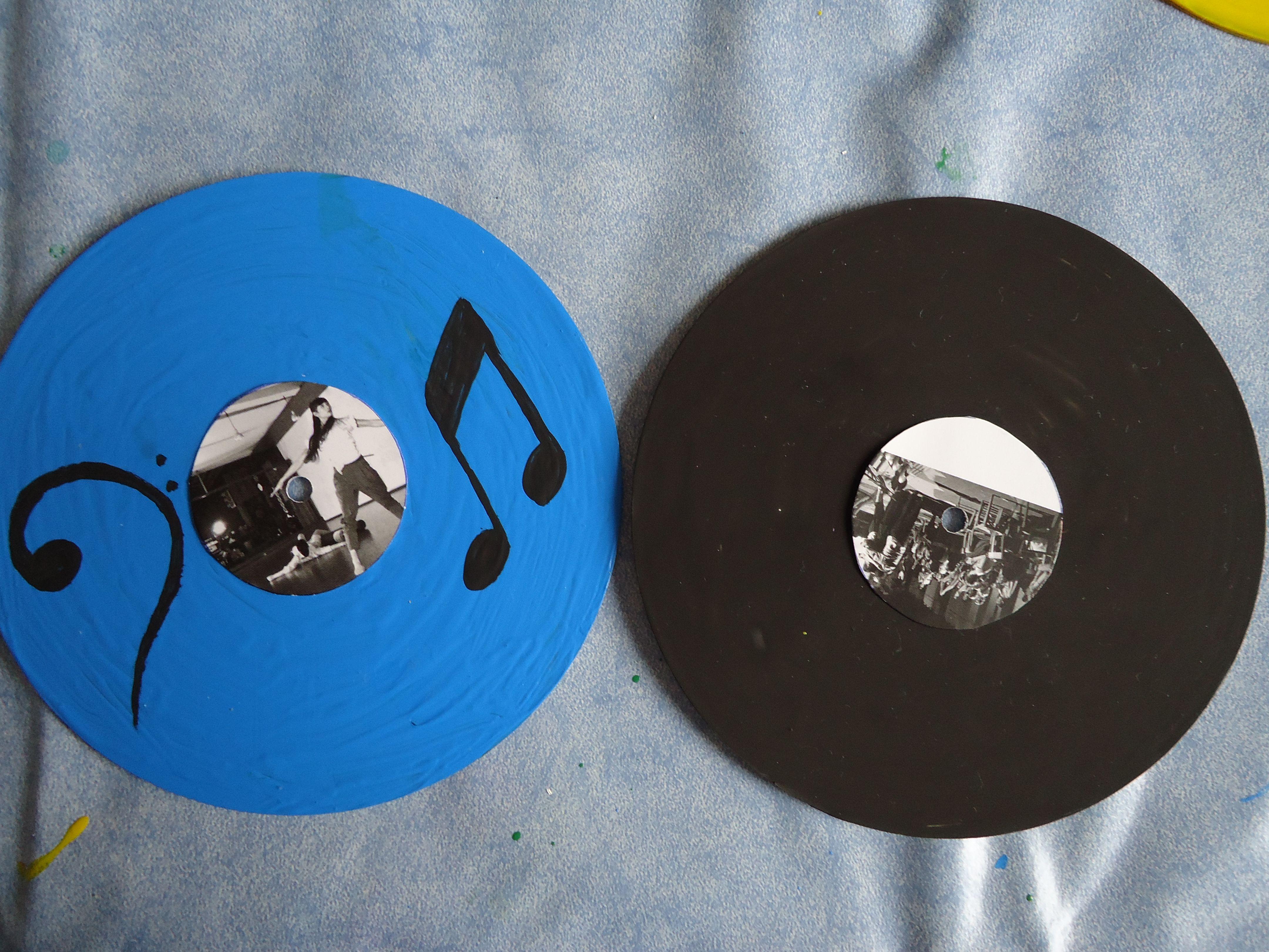 CDs pintados