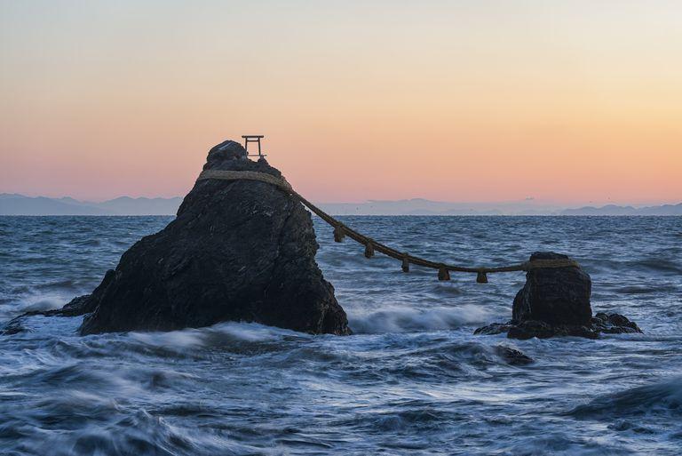 Meoto Iwa Wedding Rocks temple