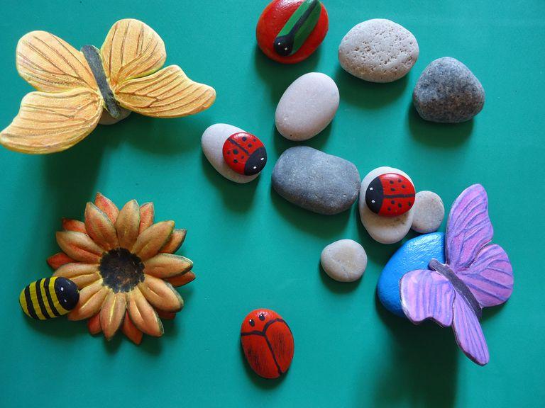 Flores Y Mariposas Con Fomi Termoformado