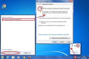 Bluetooth no funciona en Windows 7