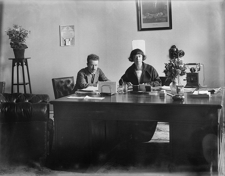 La diplomática, feminista y revolucionaria Aleksandra Kollontai.