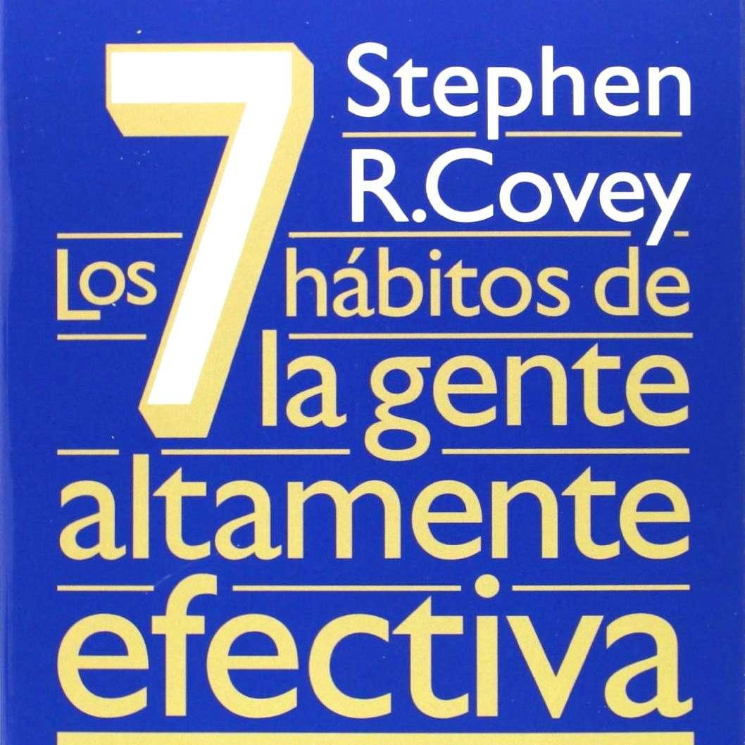Los 7 habitos de la gente altamente efectiva de Stephen R Covey libro de autoayuda