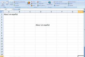 Copiar y pegar en Excel