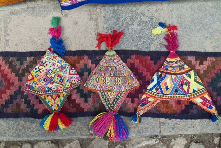 Gorros peruanos