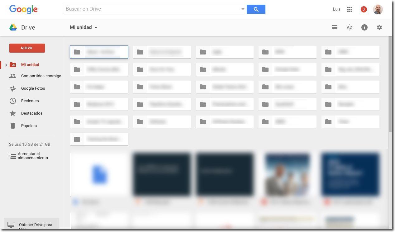 Google Drive en español