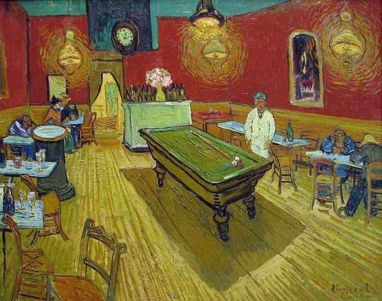 Vincent van Gogh, Cafe de noche