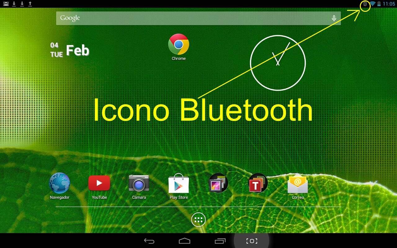 Bluetooth en tablet