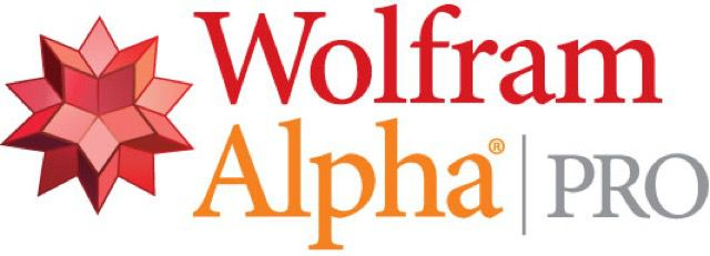 Logotipo de Wolfram-Alpha Pro