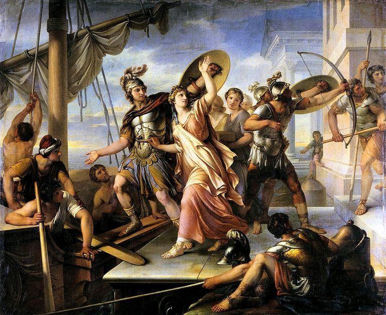 Homero, La Ilíada y La Odisea