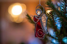 Angel de la navidad