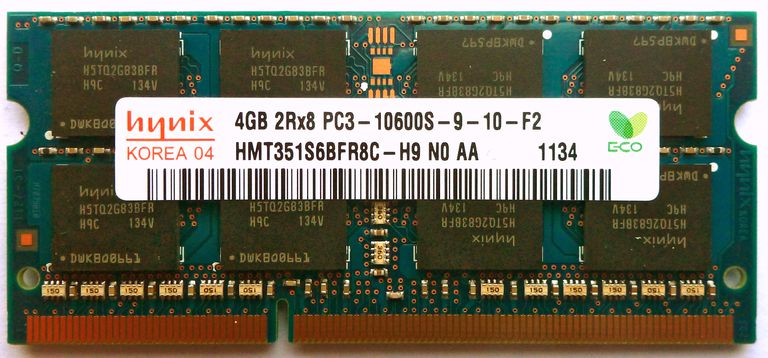 PC3-10600 DDR3 SO-DIMM