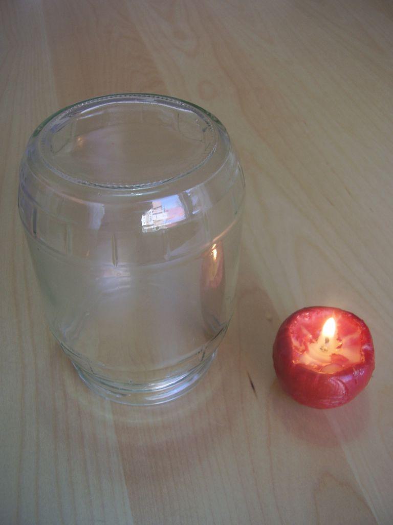 Un vela que se apaga sola