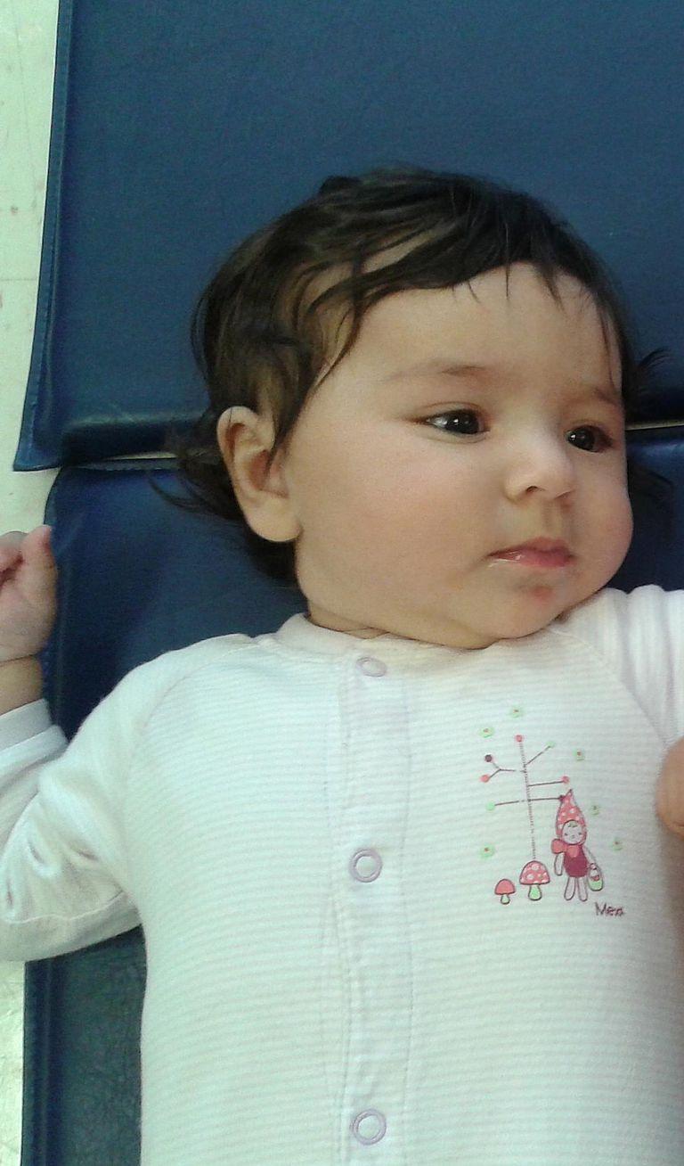 Horario de un bebé de 8 meses
